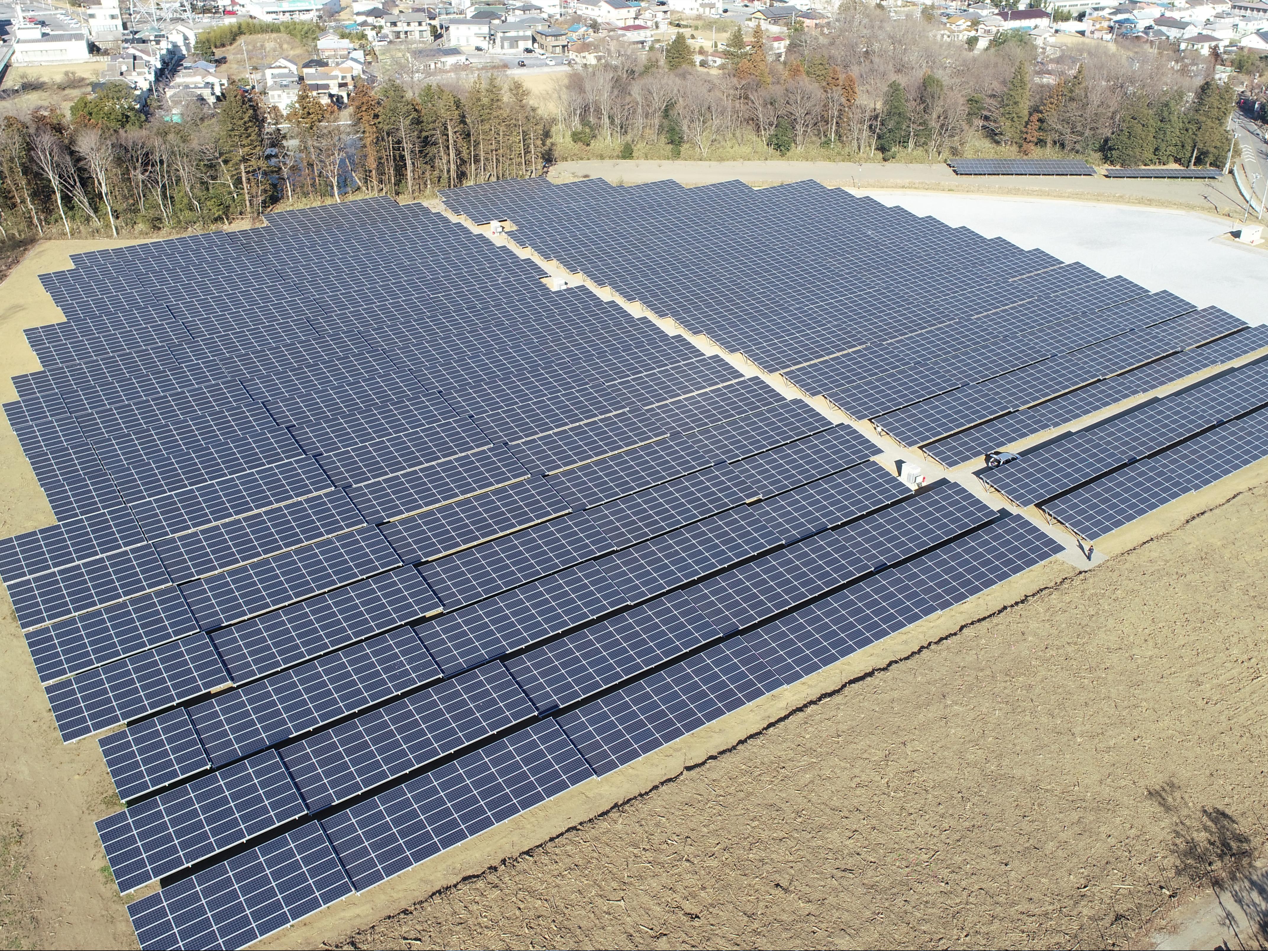熊谷太陽光発電所Ⅱ